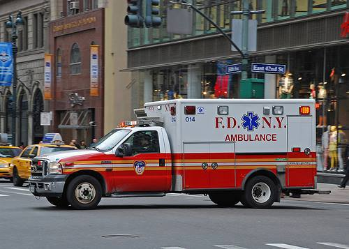This Is A Photo Of A Typical NYC Ambulance. The Most Visible Symbol On It  Is The Serpent Wrapped Around A Pole. Take A Look Next Time An Ambulance  Passes ...