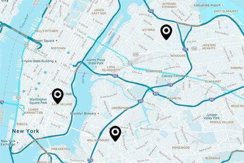Map Of New York New York North Mission.Citylightnyc Spirit Filled Vibrant Christian Church New York