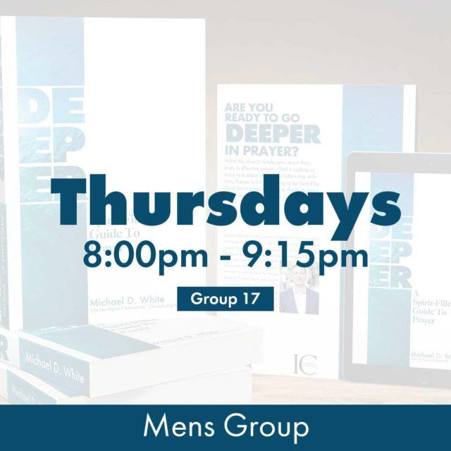 Group 17 • Thursdays • 8:00pm - 9:15pm