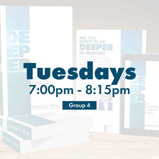 Group 4 • Tuesdays • 7:00pm - 8:15pm