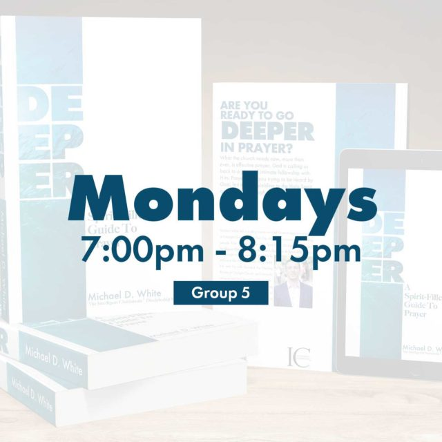 Group 5 • Mondays • 7:00pm - 8:15pm